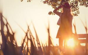 Pokemon Serena . Sundown journey by kazenary