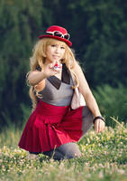 Pokemon Serena . I'm gonna catch you! by kazenary