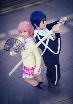 Noragami . Willing to fight