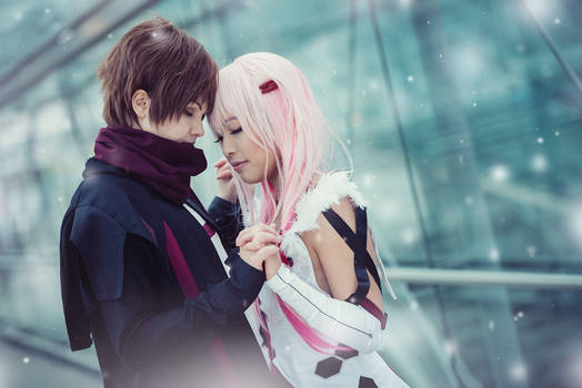 Guilty Crown . I'll be on your side