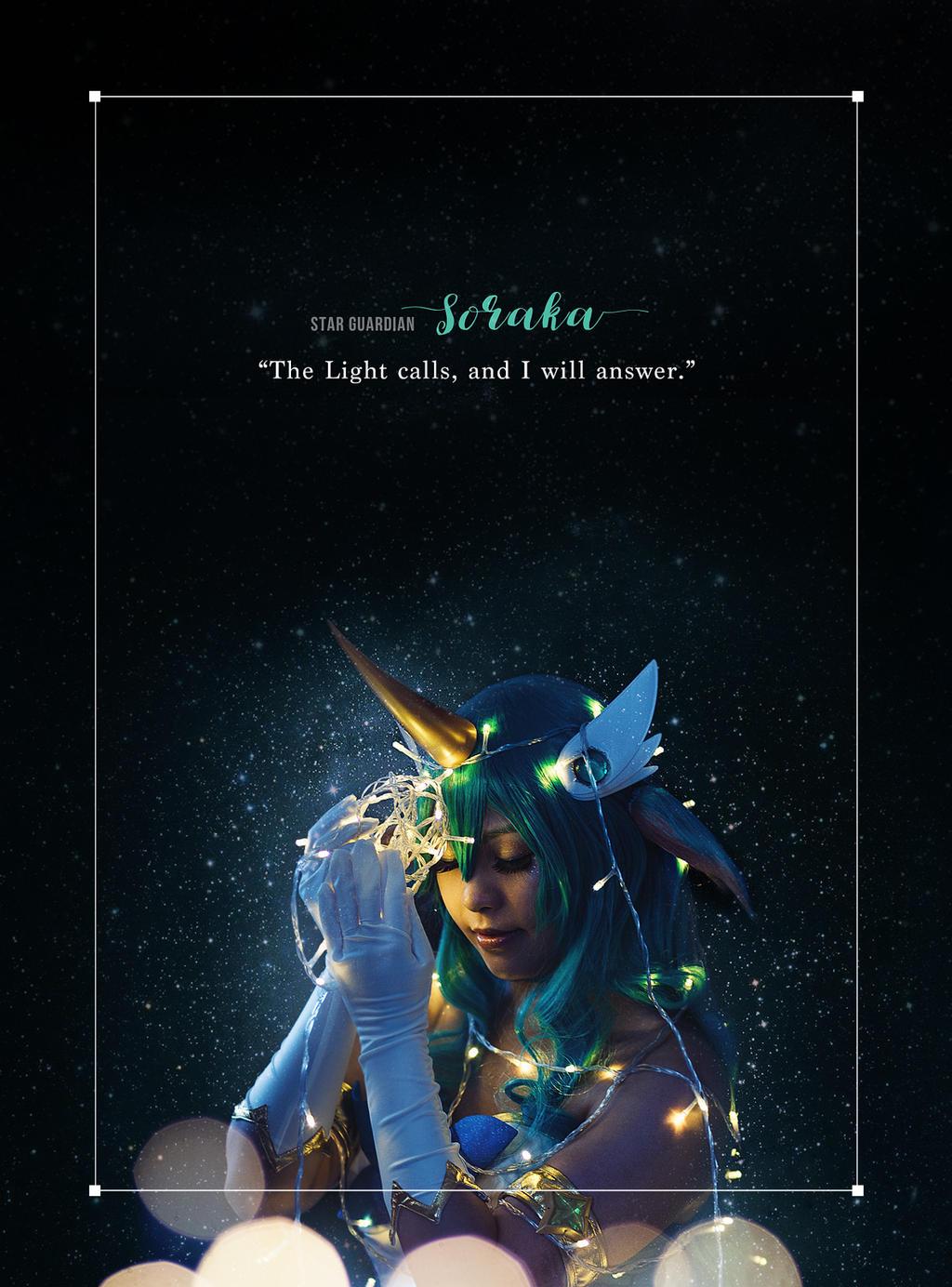 League of Legends . Star Guardian Soraka I by kazenary
