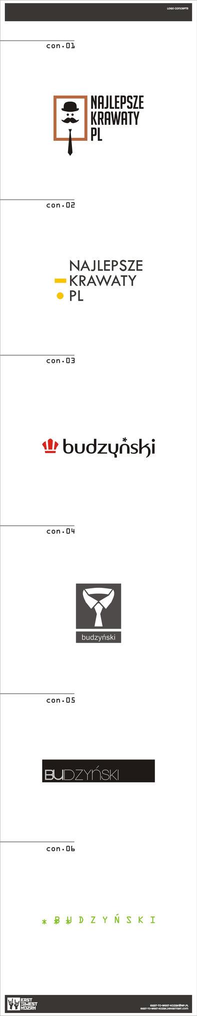 Budzynski - logo design by East-to-West-Kozak