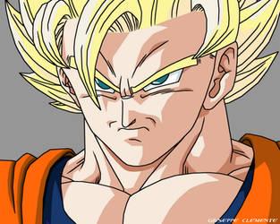 Goku ssj2 ready by Bardock85