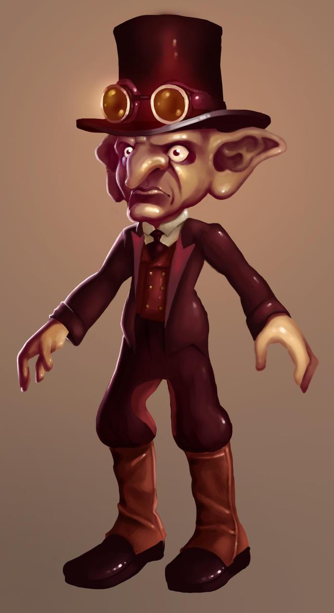 Modified Goblin by HannahWhoDraws