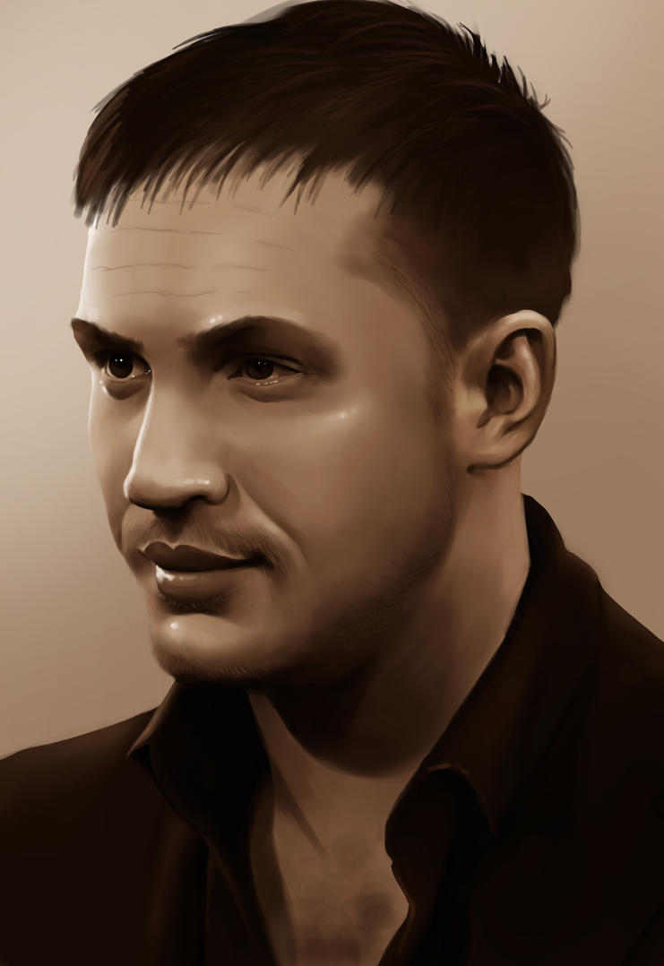Tom Hardy by HannahWhoDraws