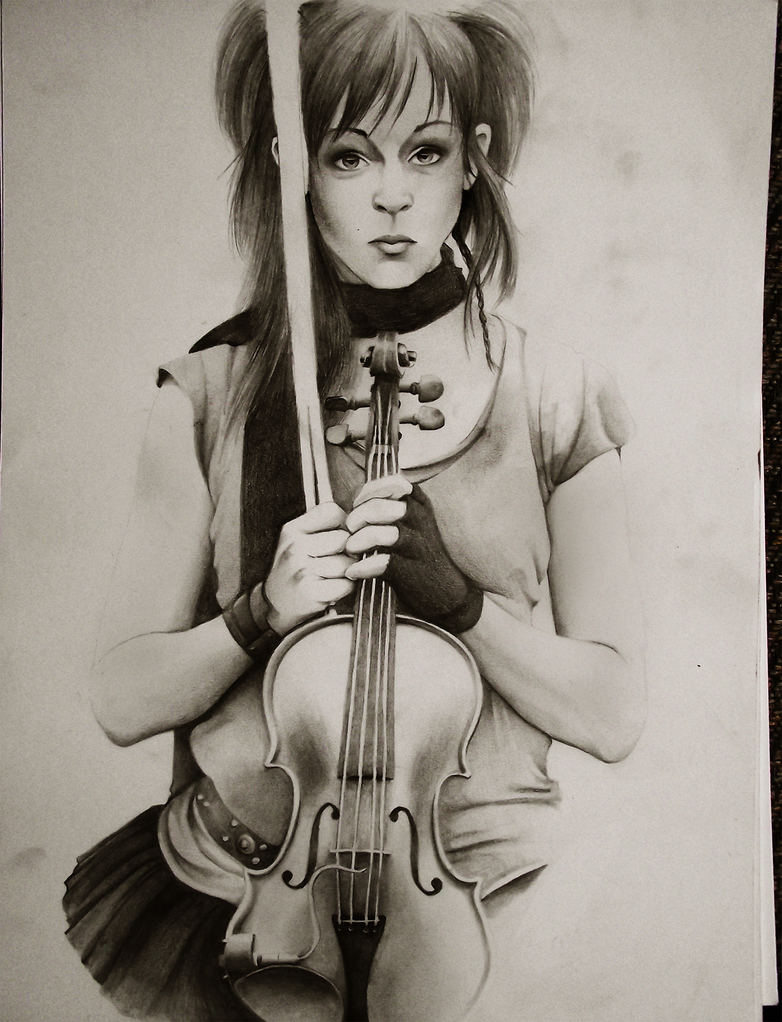 Lindsey Stirling by HannahWhoDraws