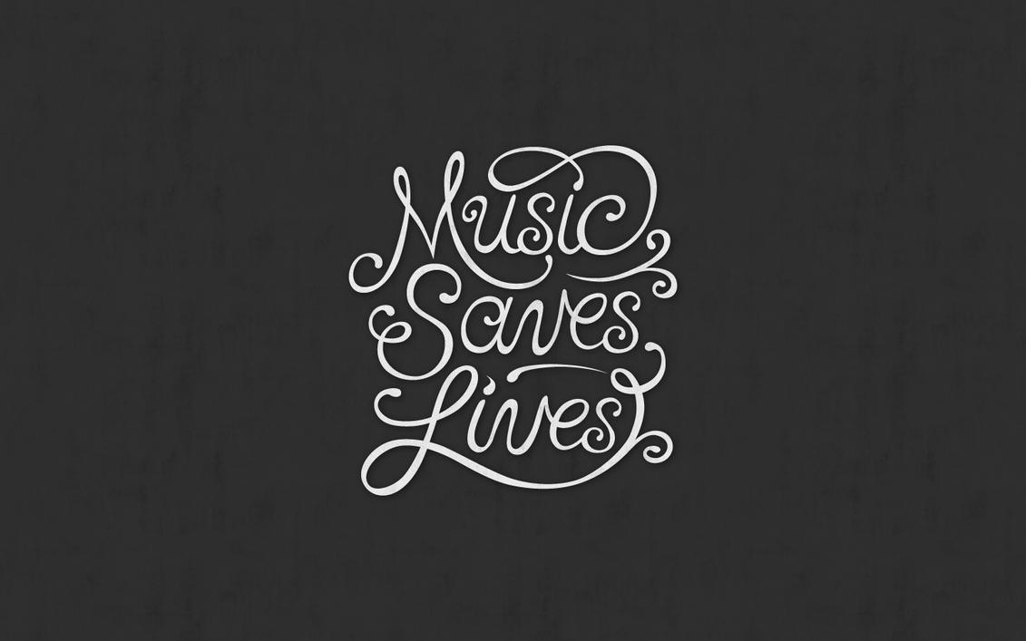 Music Saves Lives Wallpaper By GRRRitzMai