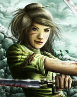 Random kitsuki duelist by HectorHerrera