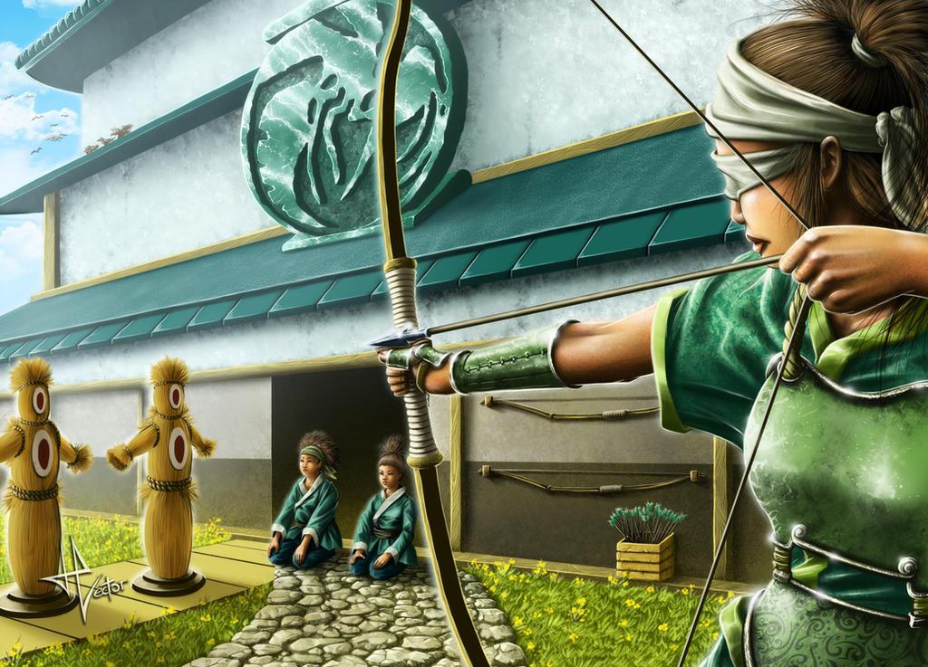 L5r - Archery range by HectorHerrera