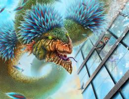 Quetzacoal - Guerra de Mitos by HectorHerrera