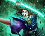 L5R -  Kuni Shinoda, Advisor to the Jade champion