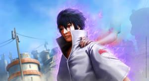 Sasuke Uchiha - following Itachi's path