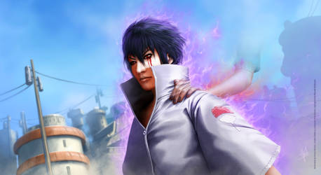 Sasuke Uchiha - following Itachi's path by HectorHerrera