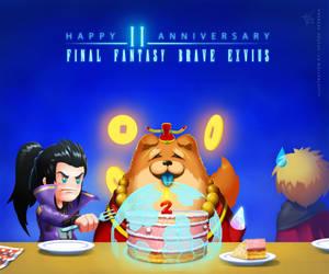 Happy 2nd anniversary FFBE!