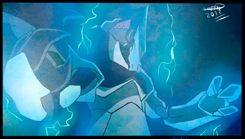 The Roar of the king of lightnings by Ryan-sprite