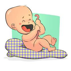 Umbilical Cord Care for the Newborn | Cartoon