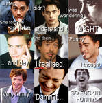 Robert Downey Jr. and a joke.