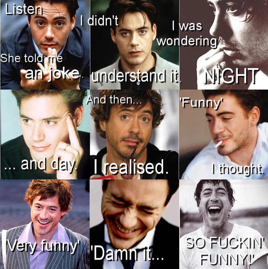 Robert Downey Jr Meme ... Robert Downey