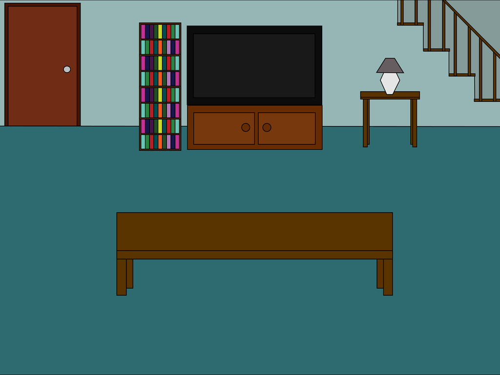 Cartoon 39 living room back 39 scene by mjb1225 on deviantart for Cartoon picture of a living room