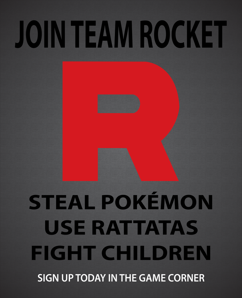 Join Team Rocket by UrLogicFails