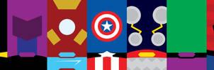 Marvel Heroes Phone Background by UrLogicFails