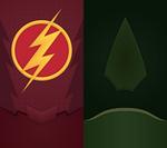 CW DC Universe Phone Background by UrLogicFails