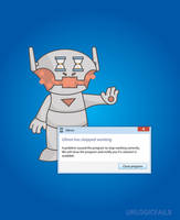 If Ultron ran on Windows by UrLogicFails