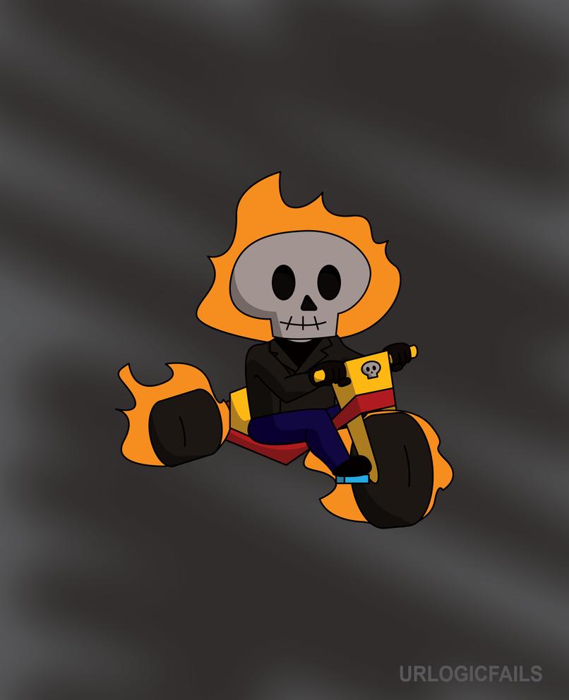 Lil' Ghost Rider by UrLogicFails