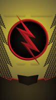 Reverse Flash Phone Background by UrLogicFails