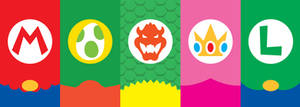 Super Mario Bros. Phone Background by UrLogicFails