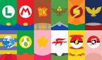 Super Smash Bros. Phone Background