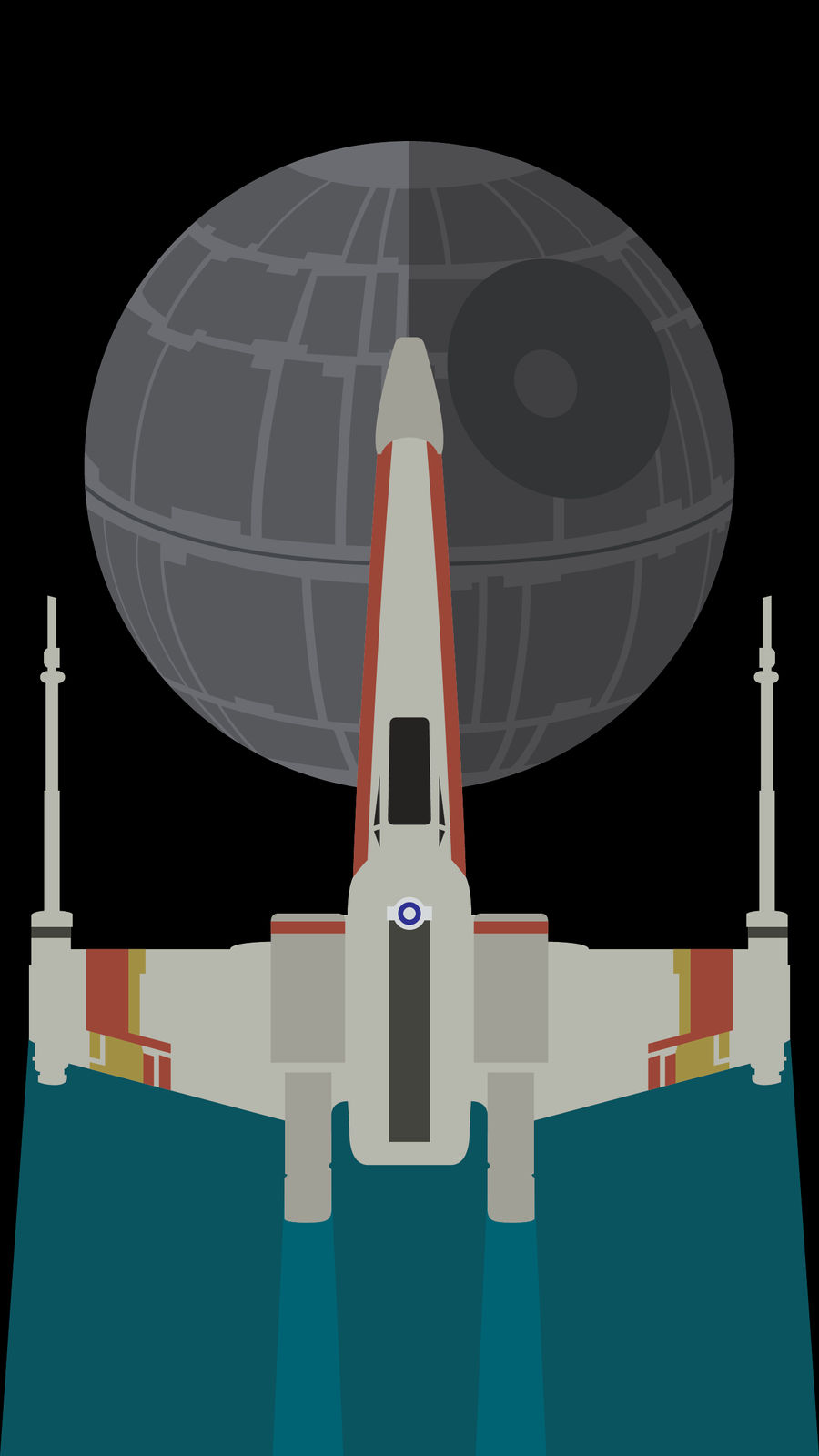 A New Hope Phone Background by UrLogicFails