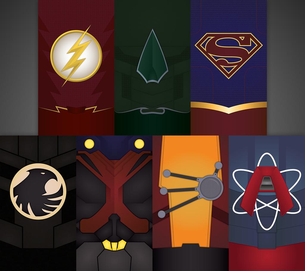 CW Justice League by UrLogicFails