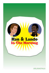 Han and Lando in the Morning