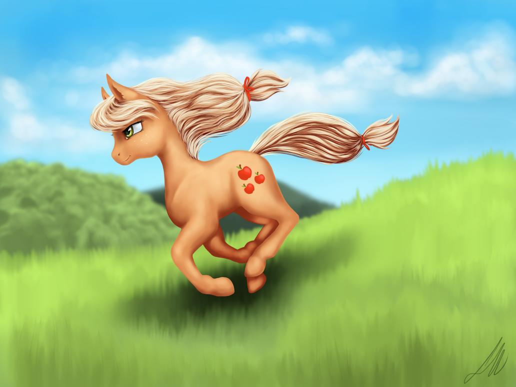 Applejack by AbLM