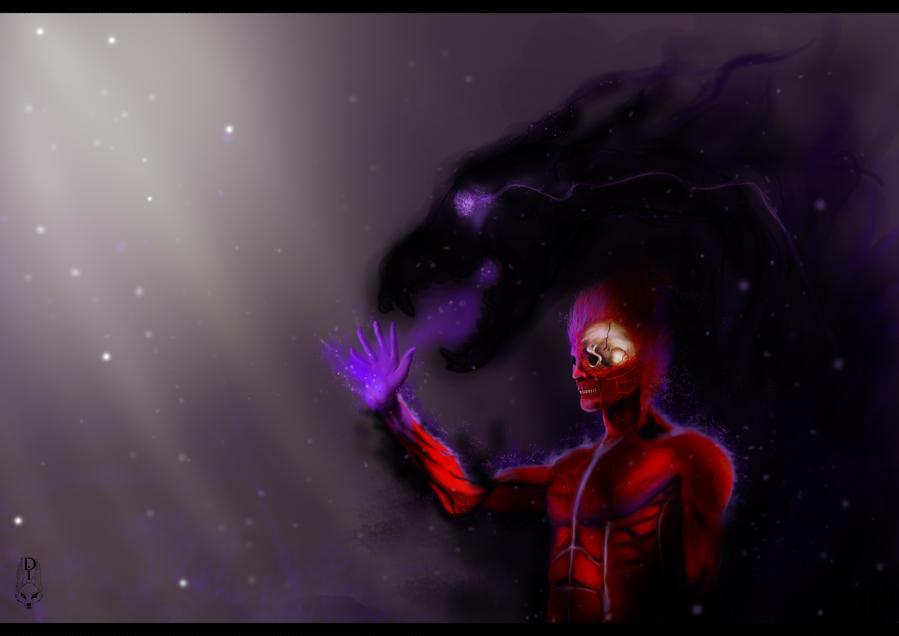 Senector in the Darkness by ZiokoH