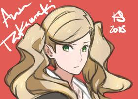 P5 Ann Takamaki by Kid-Shiro