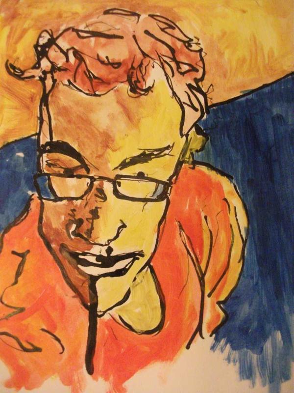 Selfportrait by K1L-3M-AL