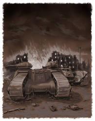 Guardian tank by SashaOtaku