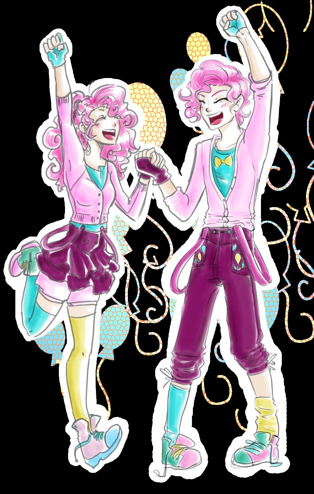 MLP- Genderbender - Pinkie Pie by Himram