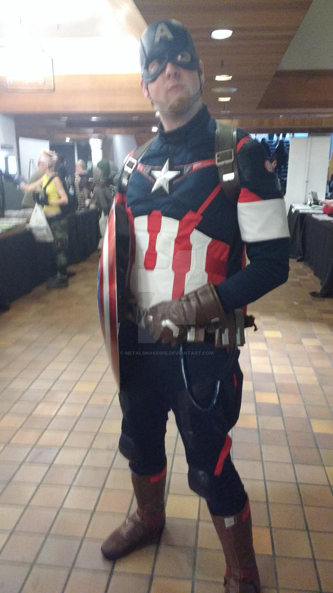 Captain American by metalsnake005