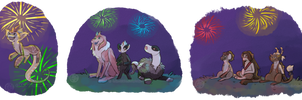 Fireworks for Everyone! by Balkeir