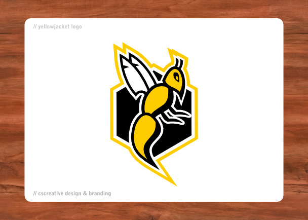 Yellow jacket svg  Etsy
