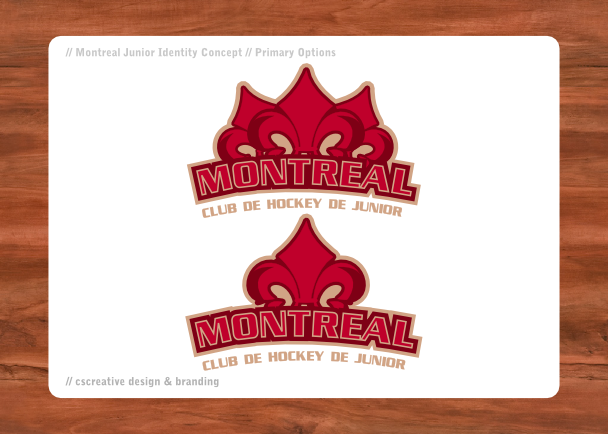 Montreal Junior Primary Logo by chickenfish13