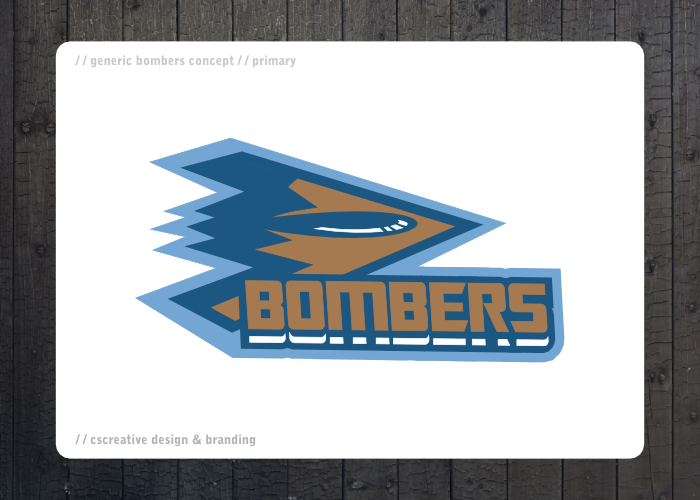 Bombers Logo by chickenfish13