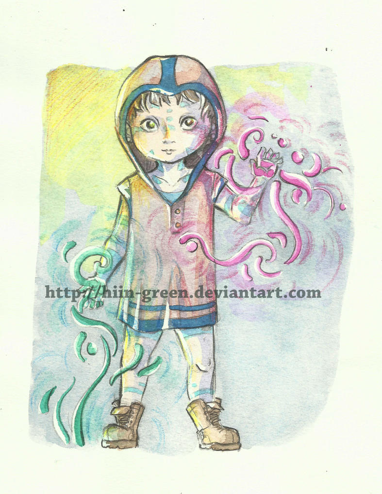 Ecoline Test 02 by Hiin-Green