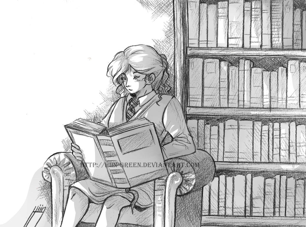 Hermione 02 by Hiin-Green