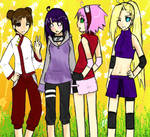 Konoha Girls: Collab