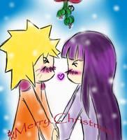 Merry Christmas: NaruxHina by dreams-celestial
