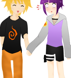 HinataxNaruto: Old Picture II by dreams-celestial